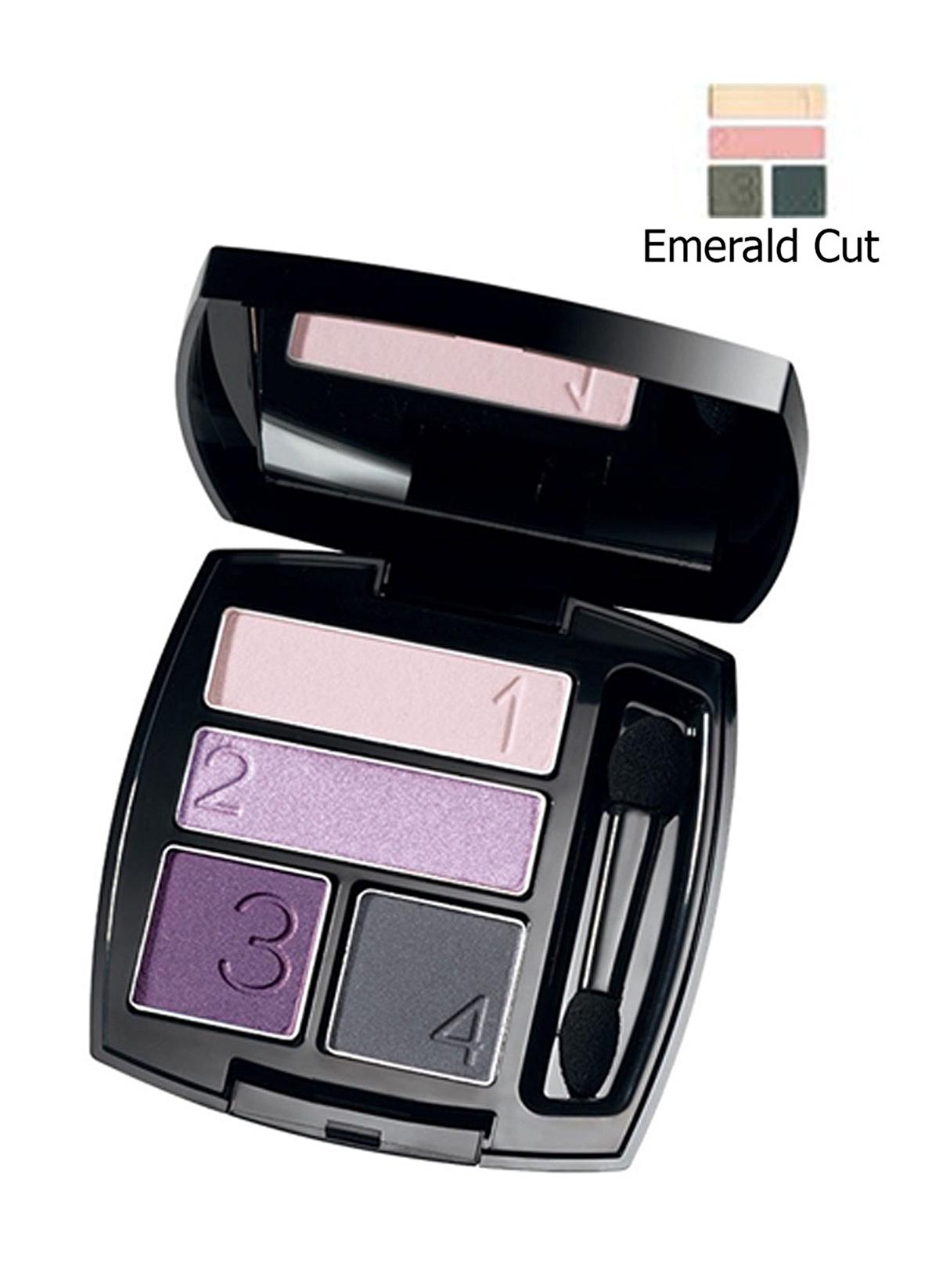58778ed55251db Avon Kadın Ultra Colour 4 lü Göz Farı Emerald Cut Renkli İndirimli ...